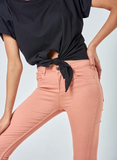 Coral  Skınny Pantolon Pembe Pembe